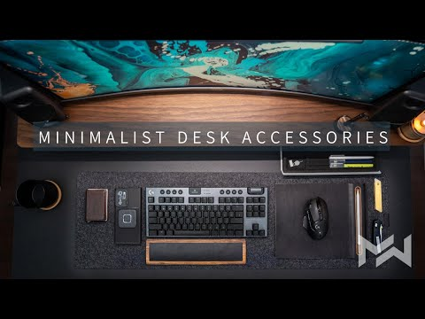 How to LEVEL UP Your Desk Setup in 2021 - Minimalist Desk Accessories - Grovemade MAJOR UNBOXING
