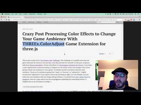 Crazy Post Processing Color Effects To Change Your Game Ambiance