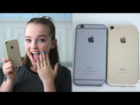 What's on my iPhone 7? + NEW Features & Comparison!   Emma Monden