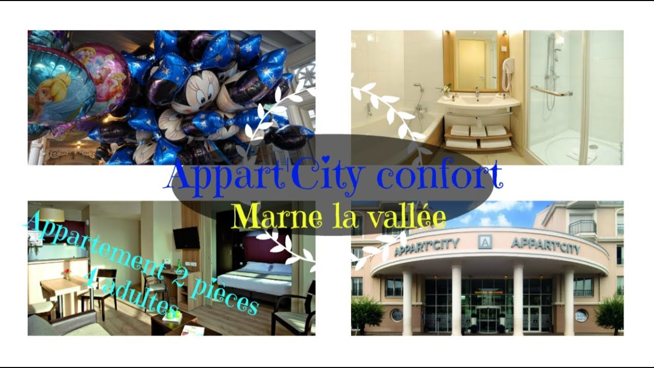 Appart\'City Confort Marne La Vallée Val D\'Europe - YouTube