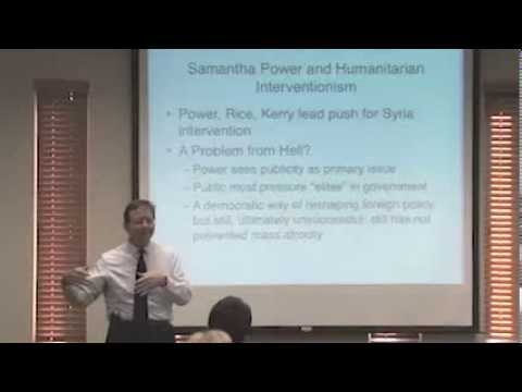 Syria and Moral Logic of Humanitarian Intervention