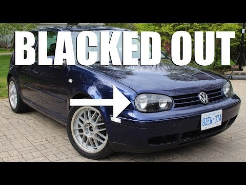 How to Blackout Your Headlight Housing