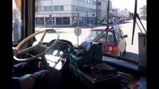 Nostalginen pieni linja-automatka