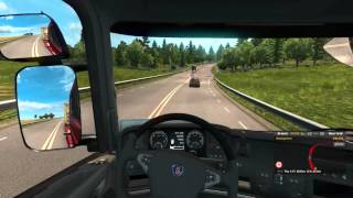 Euro Truck Simulator 2 Scania Streamline R370 Transporting Fuel Tank From Kalmar Sweden to Gdansk Po