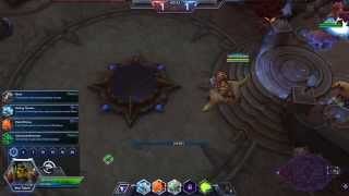 Heroes Of The Storm Linux Mint Gameplay