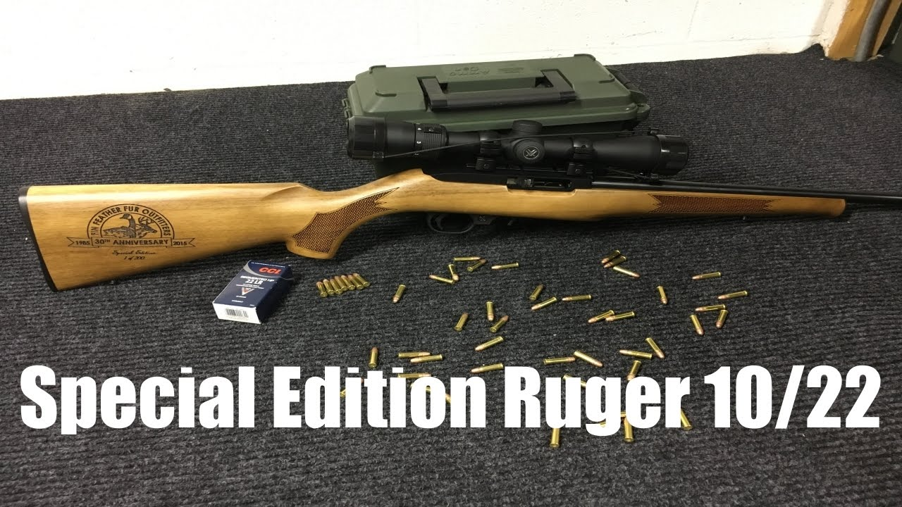 Ruger 10 22 talo special edition.
