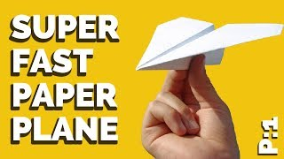 How to Make a Paper Airplane That Flies Far | BEST PAPER AIRPL…