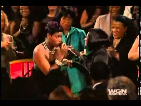 "Tribute to Patti LaBelle - Fantasia Barrino sings ""Lady Marmalade"""