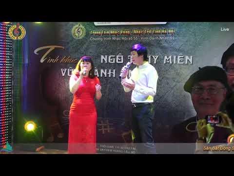Liên Khúc Dấu Chân Kỷ Niệm - Thể hiện:  Hoàng Hôn Tím ft Thanh Vũ (Nhạc hội số 55)