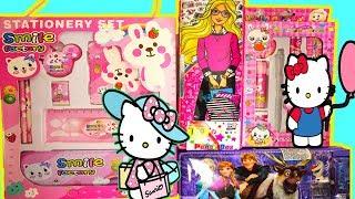 Hello Kitty Pencil Box Stationery Set, Children's toys BOX