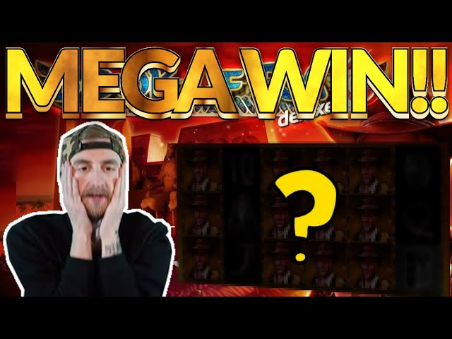 MEGA WIN! Book of Ra 6 Big win - HUGE WIN on Casino slots from Casinodaddy