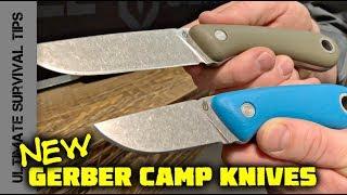 NEW! Better Than Mora? GERBER Spine Bushcraft Knife - FIRST LOOK - SHOT Show 2018