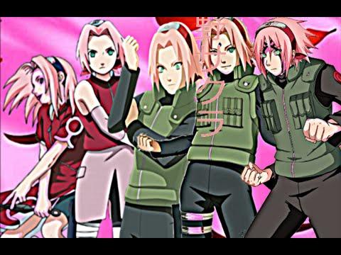 Sakura Haruno - All Forms (Naruto,Naruto Shippuden, Naruto The ...