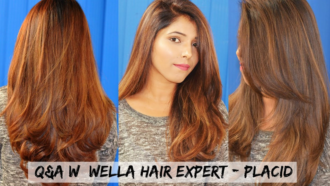 All About My Hair Color Qa W Wella Hair Expert Placid Youtube