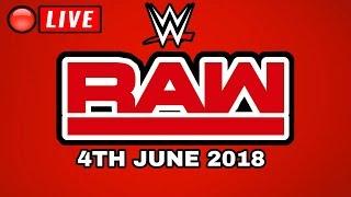 🔴 WWE Raw June 4th, 2018 - LIVE STREAM FULL SHOW - LIVE REACTIONS - Wrestling Daze