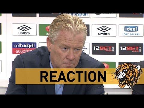Hull City v KSC Lokeren OV | Post Match with Peter Maes Lokeren Manager