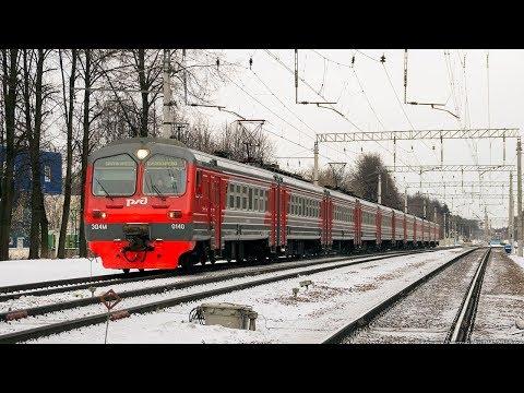 ZDSimulator. Пригородный электропоезд №6342 Можайск - Москва, поездка с помощником. ЭД4м-140