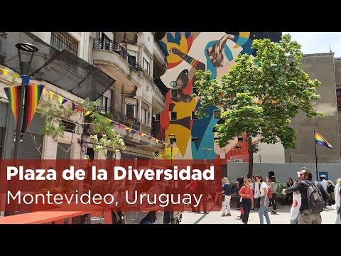 Puesta en valor de la Plaza de la Diversidad Sexual y Paseo Policía Vieja, Ciudad Vieja, Montevideo