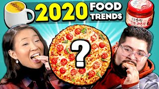 Adults React And Try 2020 Food Trends