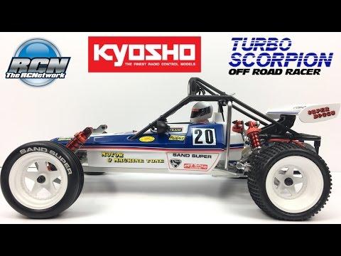 Kyosho Turbo Scorpion 2017 Re-Release - Full Reveal