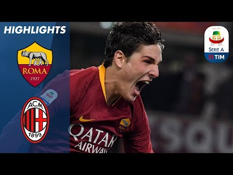 Roma 1-1 Milan   Piątek and Zaniolo got the goals but it's a draw at the Olimpico   Serie A