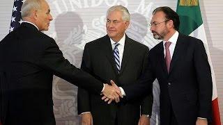 ABD Dışişleri Bakanı Tillerson'a Meksika'da soğuk karşılama