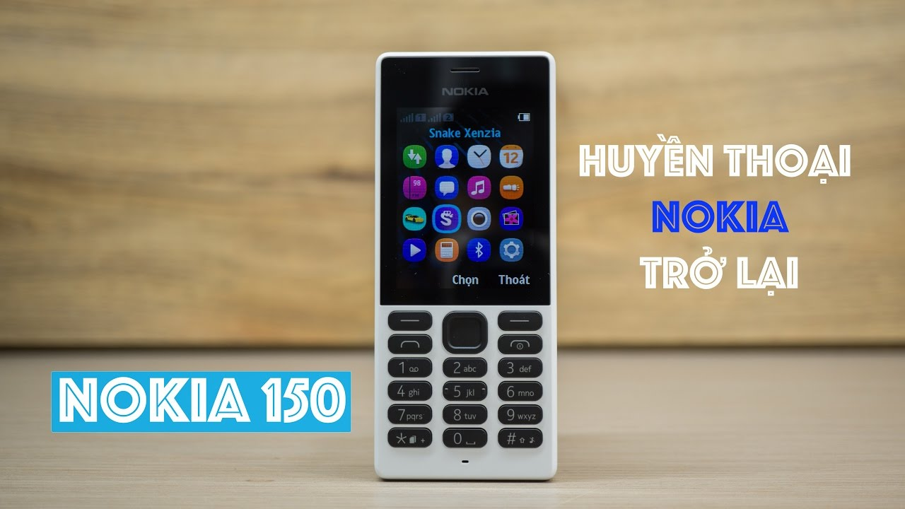 Mở hộp Nokia 150 | Huyền thoại Nokia trở lại | Nokia 150 Unboxing
