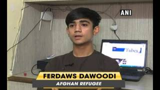 Afghan refugee boy reaches out to his community through youtube - ANI News