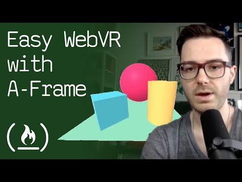 Easily code a virtual reality web experience with A-Frame (WebVR)