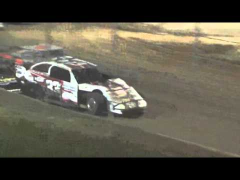 Ark La Tex Speedway USMTS modifed heat 6 friday night 2/26/16