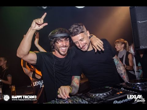 Marco Bailey B2B Lexlay @ Happy Techno - City Hall Barcelona (Barcelona / Spain) -01.08.2015