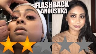 One of Anoushka's most viewed videos: I WENT TO THE WORST REVIEWED MAKEUP ARTIST IN MY CITY -  I CAN'T BELIEVE I PAID FOR THIS