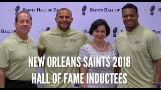 Pierre Thomas and Lance Moore inducted into Saints Hall of Fame