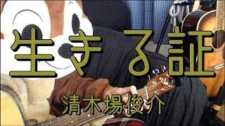 「清木場俊介」さんの「生きる証」を弾き語り用にギター演奏したコード...