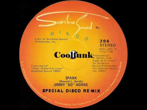 """Jimmy """"Bo"""" Horne - Spank (12"""" Special Disco Re-Mix 1978)"""