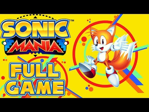 Sonic Mania - Full Game as Tails (All Chaos Emeralds)