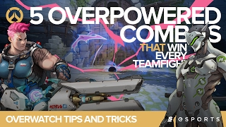 Overwatch Tips and Tricks: 5 OVERPOWERED Combos that win EVERY teamfight