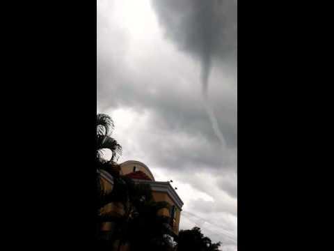 Alerte tornado visto en Siguatepeque