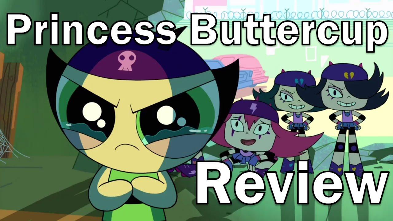 Review The Powerpuff Girls 2016 Princess Buttercup