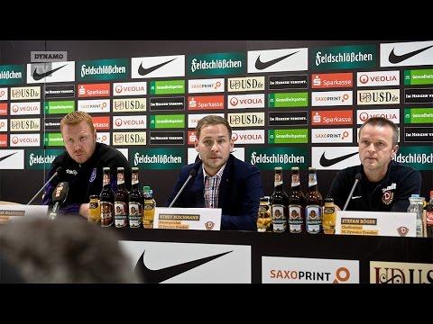 22. Spieltag | SGD - VFL | Pressekonferenz nach dem Spiel