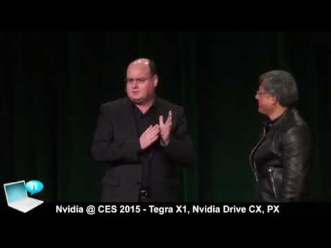 Nvidia press conference @ CES 2015: Tegra X1, Nvidia Drive CX and PX