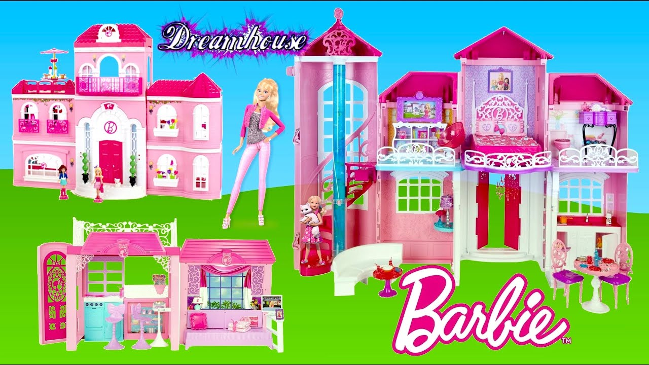 Barbie Malibu Dreamhouse Mega Bloks Barbie Luxury Mansion Glam Vacation House Dollhouse Tour