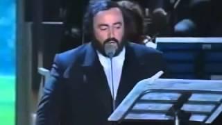 Bono Vox (U2)  Luciano Pavarotti   Miss Sarajevo HQ audio
