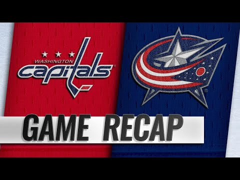 Blue Jackets blank Capitals for fourth straight win