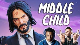 """Fortnite Montage - """"MIDDLE CHILD"""" (PnB Rock & XXXTENTACION)"""