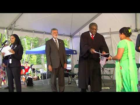 New US Citizens at 72nd annual One World Day in Cleveland
