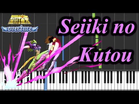 Seiki No Kutou (JC) - Saint Seiya Piano Tutorial