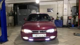 видео Фары и тюнинг Mazda 626 GE