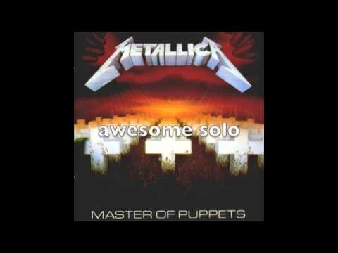 Metallica - Master of Puppets with lyrics - YouTube