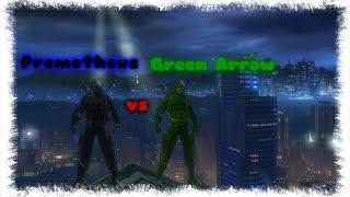 Зелёная Стрела vs Прометей в DC Universe Online